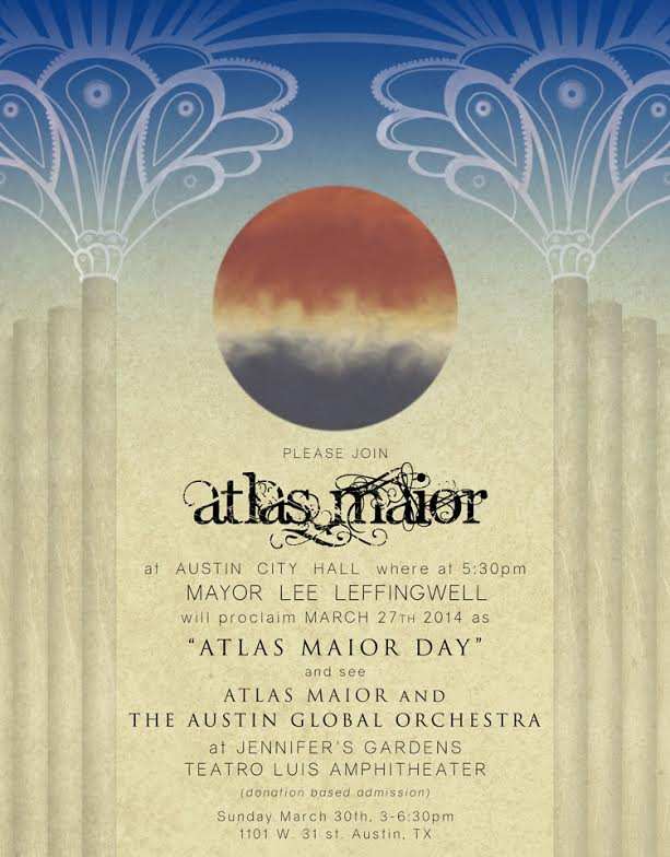 Atlas Maior Day 3/27/2014 Austin's City Hall